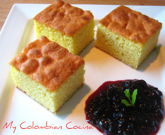 receta de mantecada colombiana