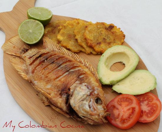 My Colombian Cocina Mojarra Tilapia Frita