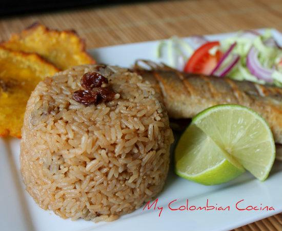 My Colombian Cocina Arroz Con Coco Titote